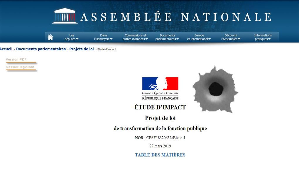 Ballon D Essai De La Future Reforme De La Fonction Publique